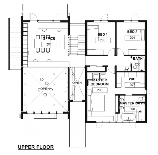 Incredible best architectural plans of residential houses for Residential home floor plans