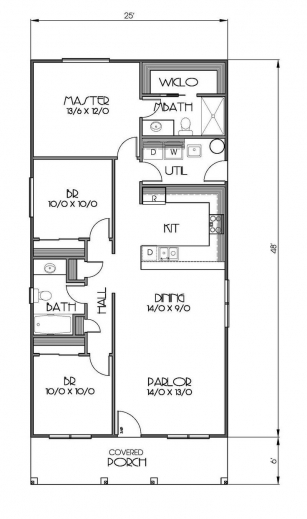 Incredible Family Tiny House Design Plans 8 X 20 Felixooi 8 By 20 Floor Plan Picture