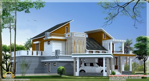 Incredible Stylish Kerala House Designs And Floor Plans 2011 For Kerala Home Top Plan Of Kerala Houses Image