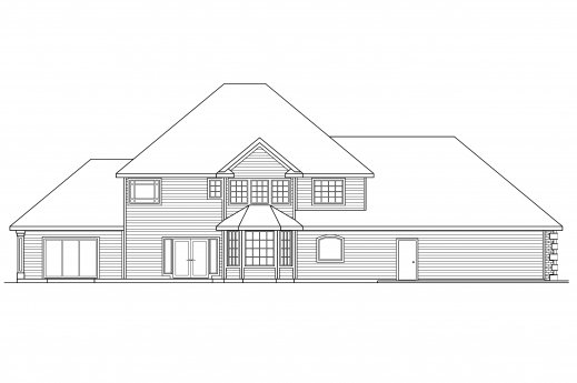 Inspiring Classic House Plans Kersley 30 041 Associated Designs A Complete House Plan With It Elevation Photos