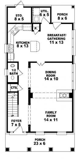 Inspiring Ideas For Narrow Lot House Plans Narrow Lot Home Plans Tavernierspa Narrow Lot Home Plan Image