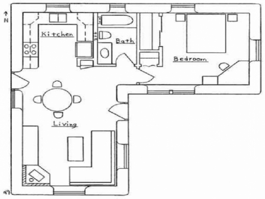 Inspiring L Shaped House Plans With Attached Garage Room Designs Planskill L Design House Plans Image