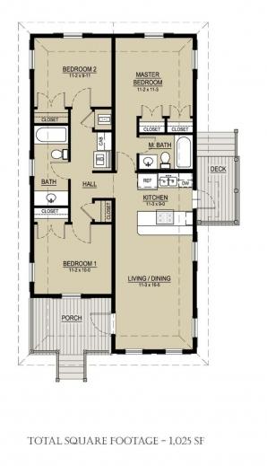 Marvelous 17 Best Ideas About Bungalow Floor Plans On Pinterest Bungalow One Room Bungalow Floor Plans Images Photos