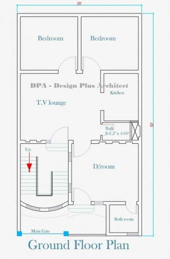 Marvelous Designer Home Plans 2 Floor Home Plan 1200sf Images