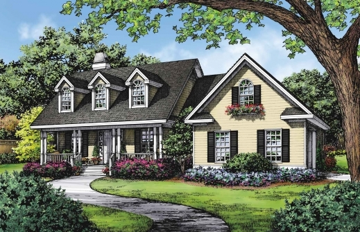 Marvelous Dream Home Plans The Classic Cape Cod Houseplansblogdongardner Donald Gardner Cape Cod House Plans Image