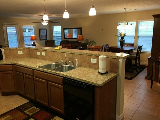 Outstanding 3 Bedroom 2 Bath Open House Plans Arts Bed Home Hr36057 Planskill Open Plan 3 Bedrooms Images