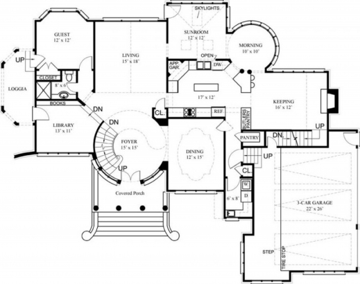 Outstanding Architectures Luxury House Designs And Floor Plans Castle Nice House Plan Pics