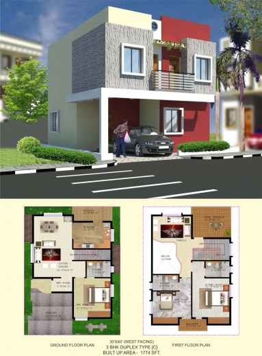 Outstanding Floor Plan Balaboomi City 30×50 3 Bhk House Plan Pics