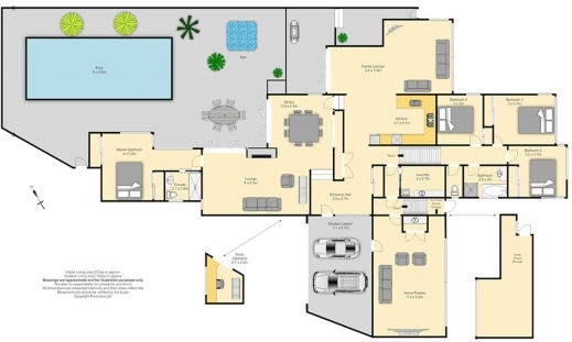Big houses plans house floor plans for Large beach house plans