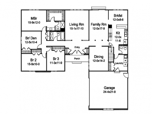 remarkable l shaped house plans with attached garage home floor plans l design house plans photo. Black Bedroom Furniture Sets. Home Design Ideas