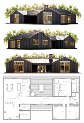 Remarkable 1000 Ideas About Small House Plans On Pinterest Cabin Plans Small Old Farm Houses Plans Photo