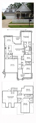 Remarkable 17 best images about small house plans on for Small craftsman house plans with photos