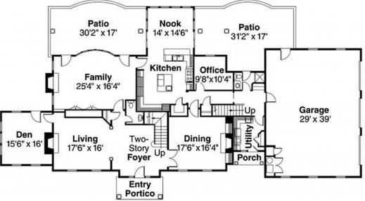 Nice house plan house floor plans for Nice floor plans