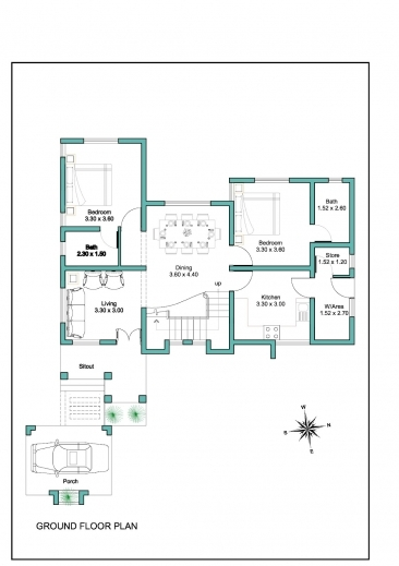 Remarkable Contemporary Kerala House Plan At 2000 Sqft Kerala House Plans Photos