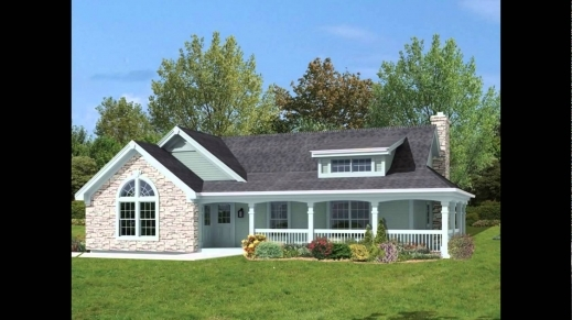 Remarkable House Plans With Porches Wrap Around Small