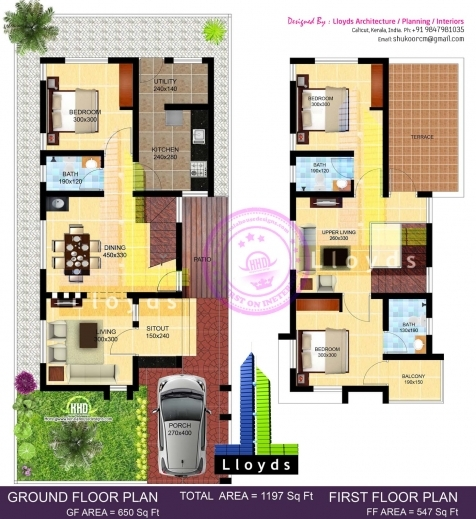 Remarkable Three Bedroom Bungalow Design And 3d Elevations Single Floor House 3d 3 Bedroom Bungalow Plan On Half Plot Pic