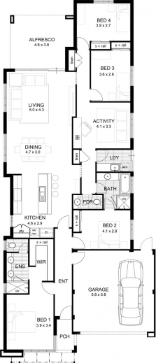 Stunning 17 Best Ideas About Double Storey House Plans On Pinterest Single Storey Kit Home Floor Plan Pictures