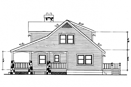 Stunning Craftsman House Plans Altadena 41 006 Associated Designs A Complete House Plan With It Elevation Pic