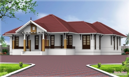 Stunning Floor Plan Kerala House Plan For 991 Sqft House Bedroom House Kerala House Plans Single Floor Photo