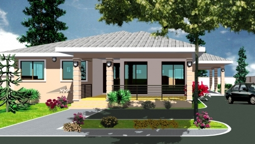 Ghana house plans com house floor plans for House plans in ghana
