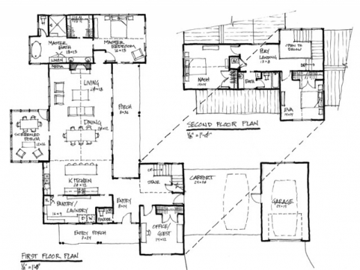 Stylish Modern Farmhouse Floor Plans Farmhouse Floor Plans Image