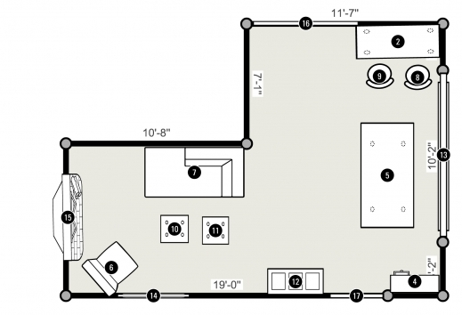 Stylish One Room House Plans Cxpz 1 Room Plan Photo