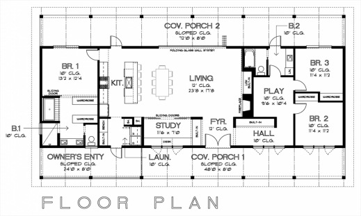 Stylish Simple Floor Plans With Measurements On Floor With House Floor Simple House Floor Plan With Measurements Pictures