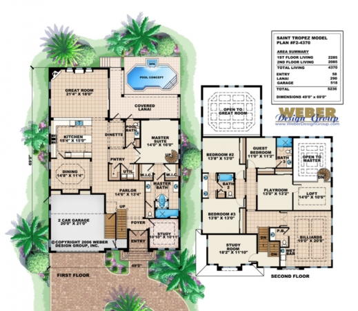 Delightful 2 story house floor plans house floor plans big for Big two story houses