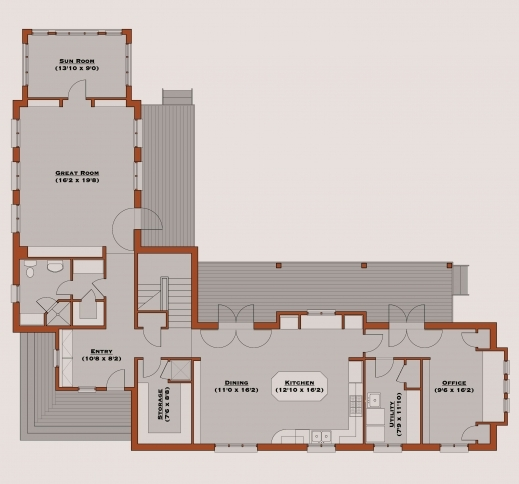 Wonderful L Shaped House Plans Bathroom Expert Design Vastu 7 Planskill L Design House Plans Pic