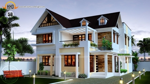 Wonderful New House Plans For April 2015 Youtube Top Plan Of Kerala Houses Images