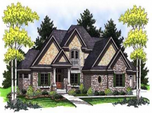 Incredible european house plans mountain home plans ranch for Old world european house plans