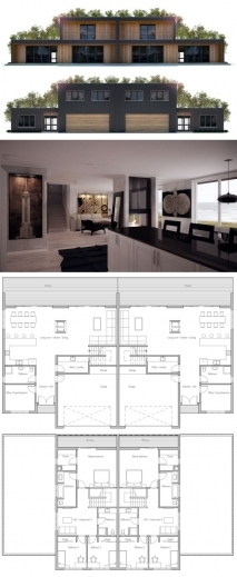 Amazing 17 Best Ideas About Duplex House Plans On Pinterest Multi Family Ideas For Structured House Plans Photos