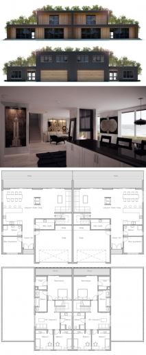 Amazing 17 Best Ideas About Duplex House Plans On Pinterest Multi Family Ideas For Structured House Plans Photos