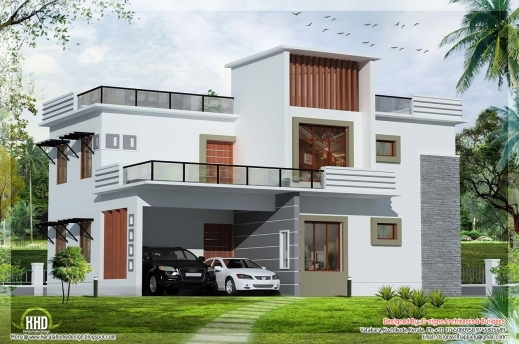 amazing flat roof homes designs flat roof house kerala