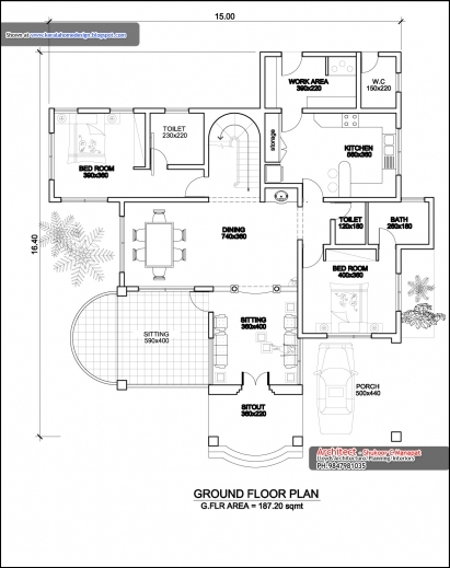 Ground Floor Elevation Quote : Amazing indian house plans for sq ft arts ground