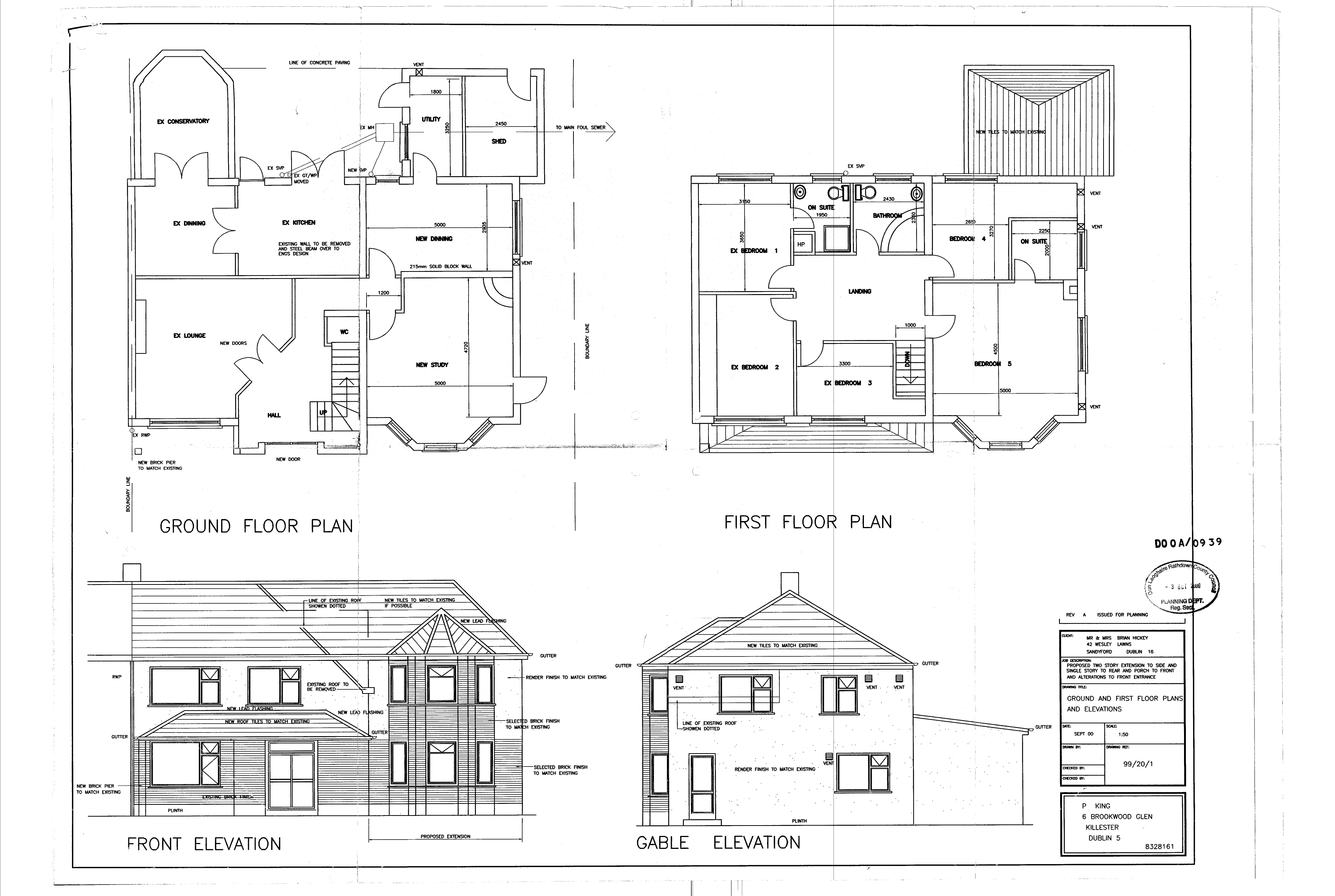 Floor Plan And Elevation Symbols : Floor plan and elevation drawings house plans