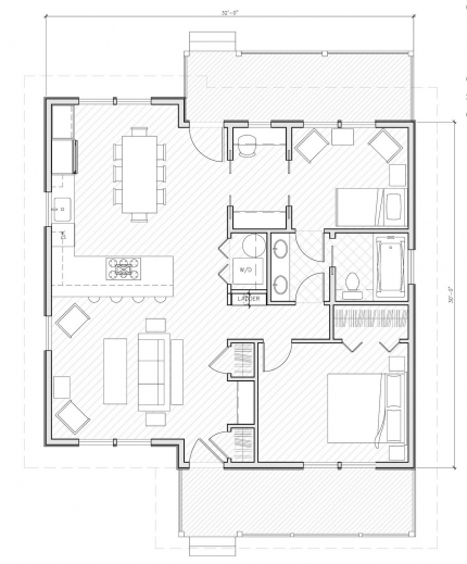 Amazing Small House Plans Under 1000 Sq Ft Person Needs Very Little To Plan Home 1000 Sq Image