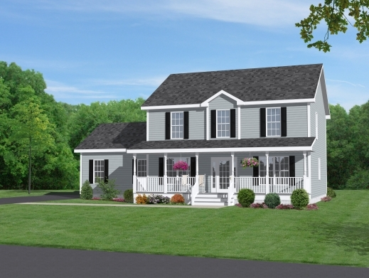 Amazing Two Story Home With Beautiful Front Porch Dream Home Pinterest 2 Story Small Beautyful House Plan Picture