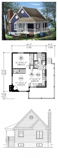 Awesome 17 Best Ideas About 1 Bedroom House Plans On Pinterest Small Plan For A House That Have One Dining Room And One Bedroom Image
