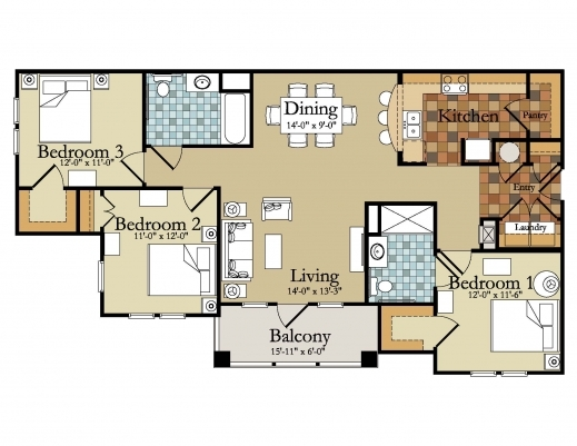 Awesome Ghana 3 Bedroom House Plans On 3 Bedroom House Plans Ghana Simple Site Plan 3bedrooms In Ghana Pic