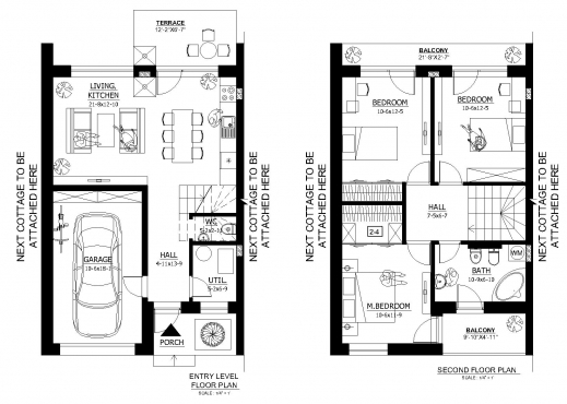 Best Ground Floor Plan Of Two Floor Architecture House Design In A Small Ground Or Floor Plans Pic