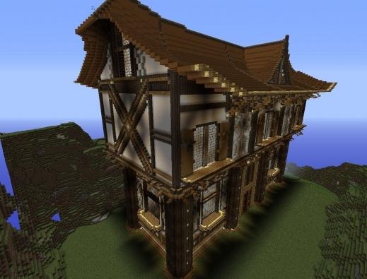 Best Similiar Cute Minecraft Houses Fairy Tale Keywords Minecraft Fairytale House Plan Images