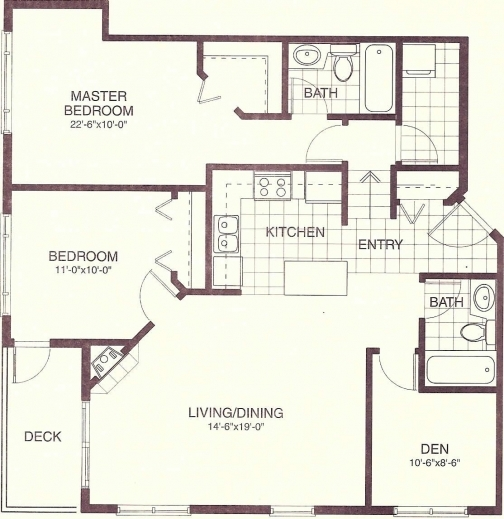 Fantastic 4 Bedroom 3 Bath House Plans Perfumevillage Home Plan1000 Sf Picture