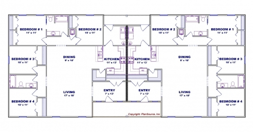 Fascinating 4 Bedroom House Plans Breakingdesign Plans Of 4 Bedroomed Single Storey Houses Pics