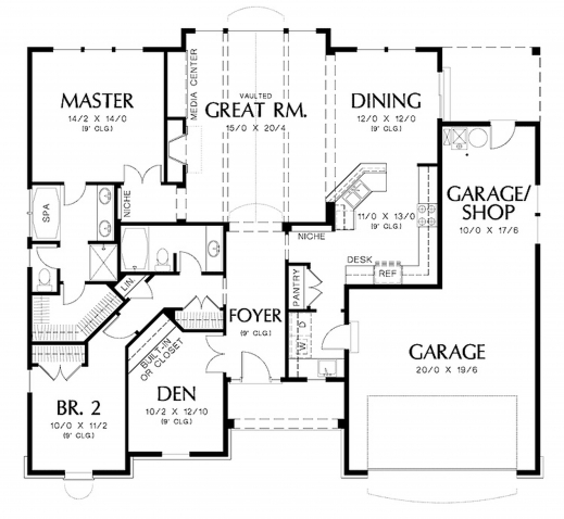 Fascinating Dog Trot House Plans The Cad Drawing Below Shows The Floor Plan House Plan Drawing Image