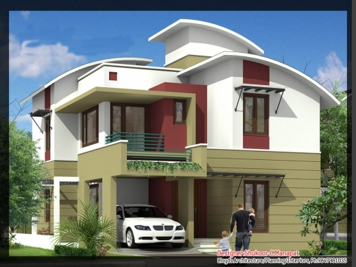 Fascinating Kerala House Plans Keralahouseplanner Wonderful Modern Homes In Kerala Plan Pics