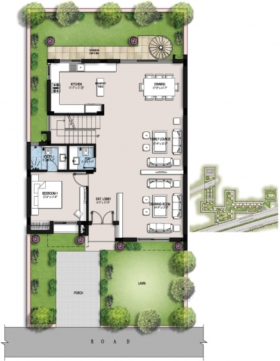 Gorgeous Ansal Housing G 2 Residential Building Floor Plan Pictures