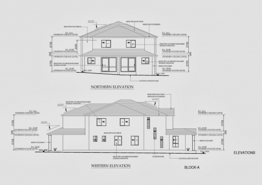 Gorgeous Australian Architectural Cad Drafting Project Australian Standard Floor Plan And Elevation Drawings Images