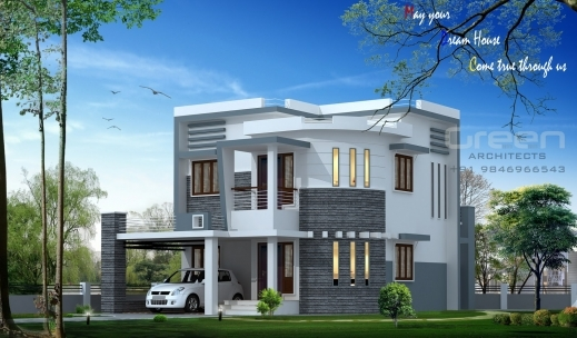 ... Gorgeous Kerala House Plans And Elevations Keralahouseplanner Wonderful  Modern Homes In Kerala Plan Photo ...