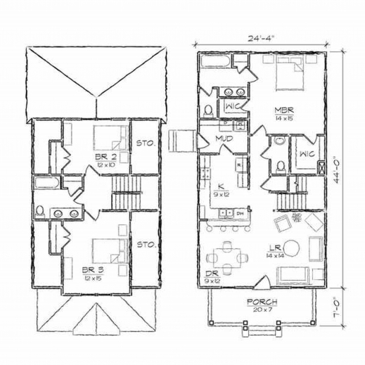 Gorgeous Single Floor 3 Bedroom House Plans Interior Design Ideas House 3 Bedroom Modern French Style House Plans Pic